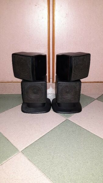 QUALITY SOUNDS OF BROTHER BOSS CUBES SPEAKERS.