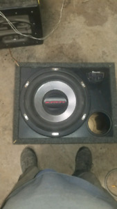Orion Subwoofer 2000 watts rms (2500 peak)