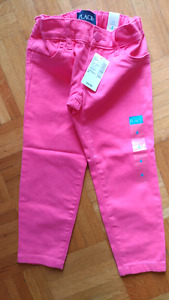 Pantalon 4T. rose- children place