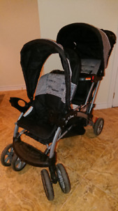 BabyTrend Sit N Stand Double Baby Stroller