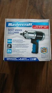 Mastercraft Air Powered Impact Wrench