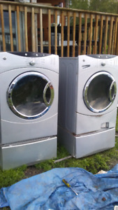 G.E.washer & dryer $300 must pick up or $60 delivered