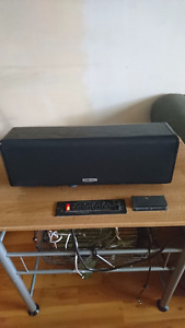 """Pol Audio Center Channel Speaker with 5.25"""" Drivers"""