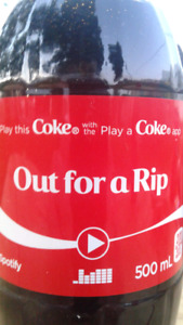 Out for a Rip - Coke Bottle