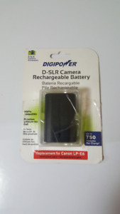 DIGIPOWER BP-LPE6 Replacement LI-Ion Battery for canon LP-E6