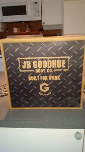 Jb goodhue biotech black steel toe workboots