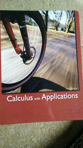 Calculus with Applications: 10th Edition Kitchener / Waterloo Kitchener Area image 1