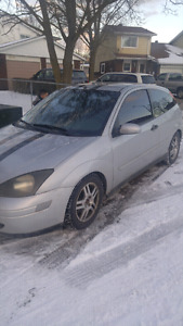 2000 ford focus standard
