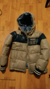 Boys winter down jacket coat sz7-8