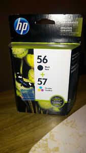 NEW HP 56 and 57 combo pack cartridges