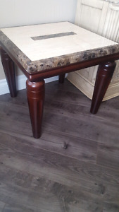 Marble coffee table set 3 pieces must sell ASAP