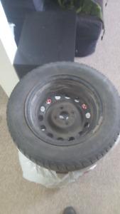 4x Cooper ST-2 Snow Tires, 185/65R14 on rims