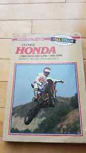 book for honda cr kawasaki kx and gpz 305