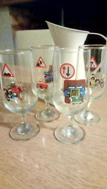 Collectable drinking glasses