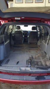 2007 Red Dodge Caravan - No Accidents