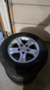Kia rims and tires