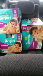 Pampers size 4
