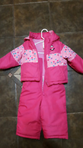 Girls snowsuit size 2T
