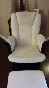 Gliding/Rocking Chair and stool