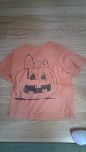 Halloween Snoopy T-Shirt Size  2T