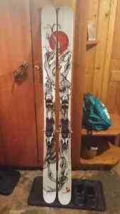 2014 Line Mr Pollard Opus with Touring Bindings and Skins