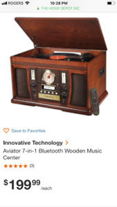 IT innovation technology record player