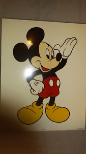 """Mikey mouse picture 16""""×20"""""""