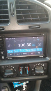 touch screen radio navigation system