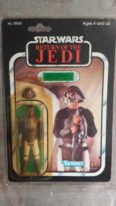 Vintage Star Wars toys - Return of the Jedi