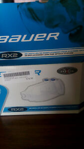 Bauer hockey helmet replacement lens (2 pack)