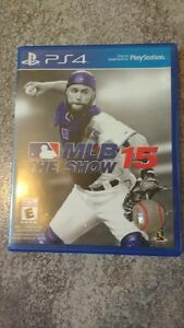 MLB 15 The Show pour PS4