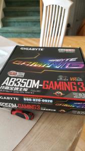 Gigabyte ab350m motherboard