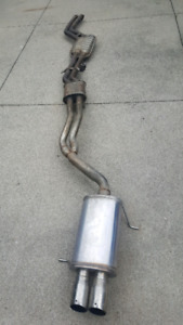 E46 Exhaust System with Magnaflow