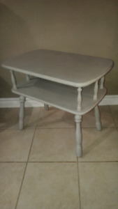 Wood table brand new condition