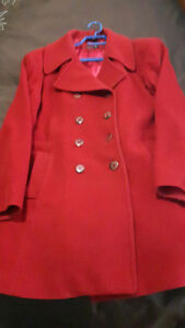 London Fog and Windows River coat and vest