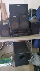 Nuance speakers with 10 inch sub and sony amp