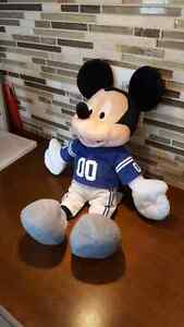 DISNEY MICKEY MOUSE STUFFED PLUSH IN NFL COLTS SHIRT