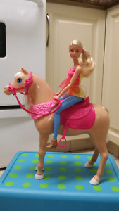 Barbie on a Horse