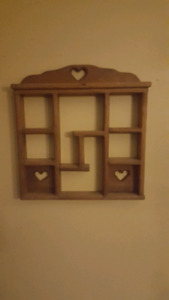 Wooden Country Shelf