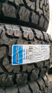 NEW LT285/65/R18 AMP AT PRO E RATED TIRES