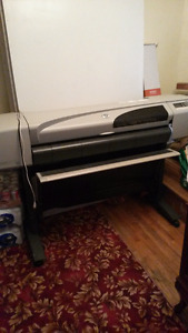 "HP C7770B Designjet 42"" Printer"" Is Active"