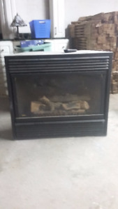Majestic gas fireplace in Dunnville