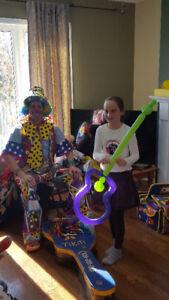 Clown Fête d'Enfant $$ RABAIS $$ de -$20.00 faut voir……