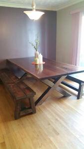 custom hardwood and harvest tables Peterborough Peterborough Area image 2