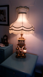 Antique  vintage  lamps
