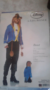 Disney Beauty and the Beast  Beast outfit size XL