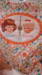 Vintage 1964 Mattel Chatty Cathy doll stroller RARE