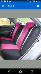 Pink Car seat covers (front and backseats) Kitchener / Waterloo Kitchener Area image 3