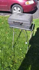Old school cast camping potable bbq Cambridge Kitchener Area image 1