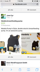 """Medela Double Electric """"Pump In Style"""" Breast Pump"""